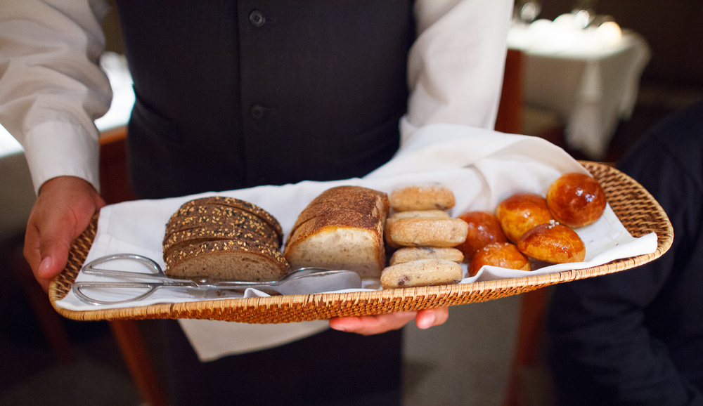 House-made breads