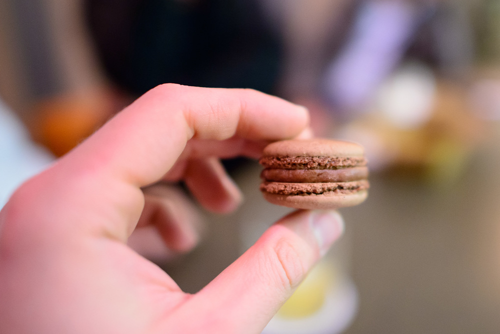 27th Course: California chocolate macaron