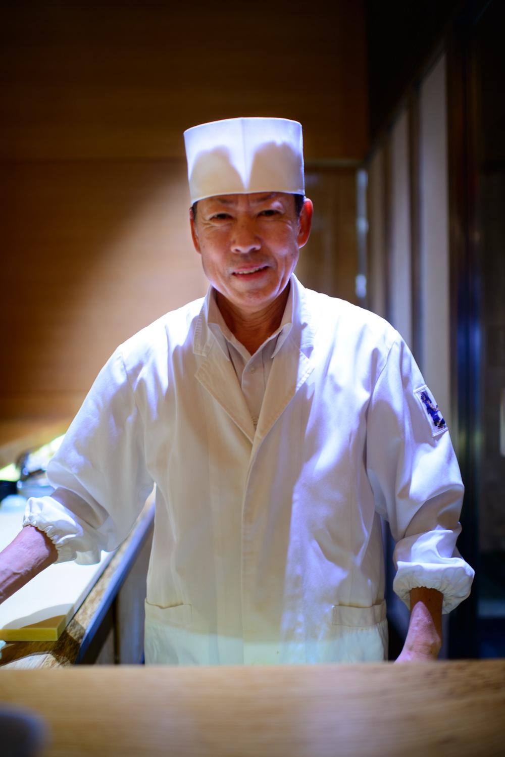 Chef Eiji Ichimura
