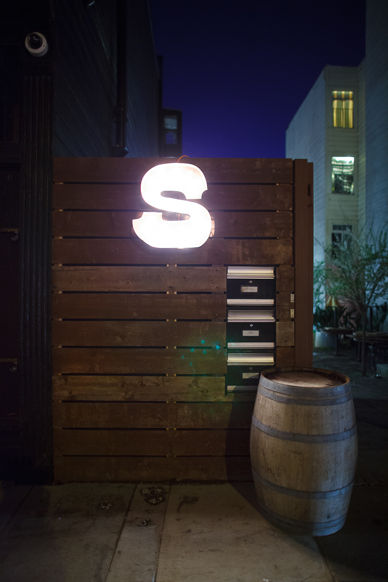 Entrance to Saison