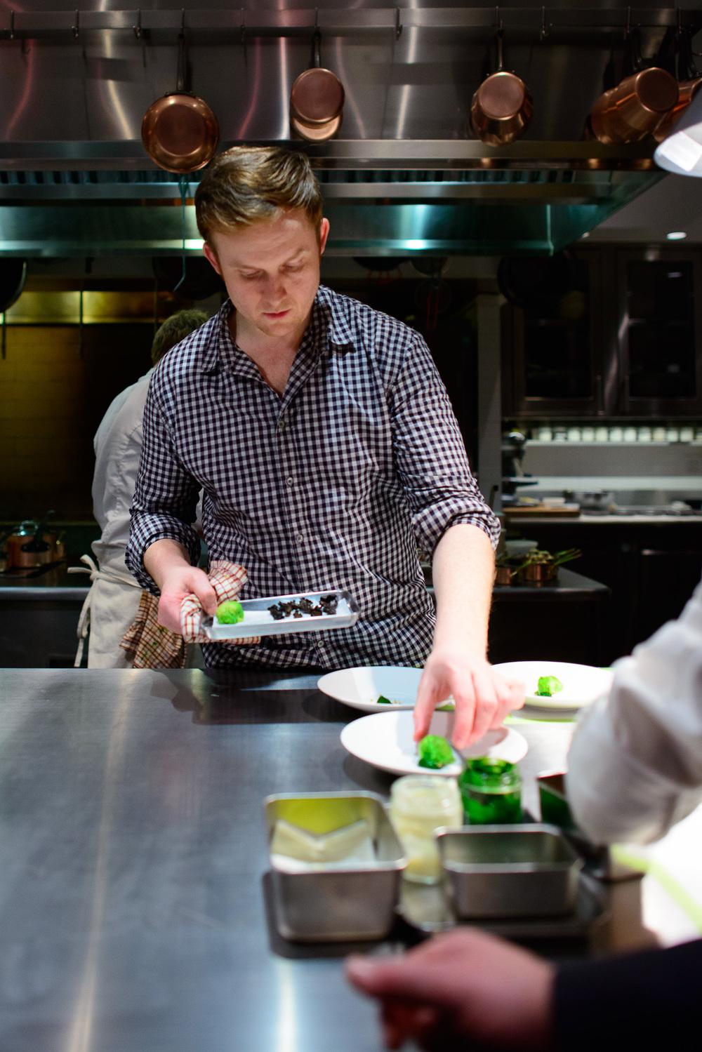 Chef Joshua Skenes