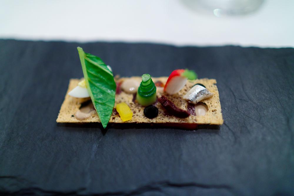 1st Course: Tuna niçoise