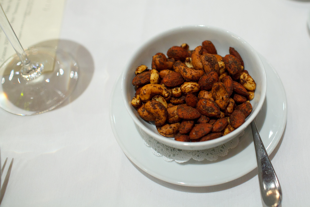 Snacks: Spiced Almond, Peanut, and Cashew