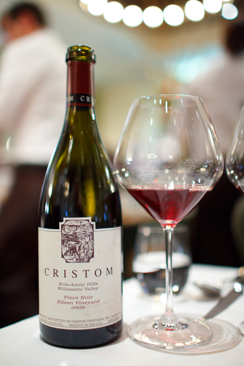 "Cristom 2009 Pinot Noir ""Eileen Vineyard,"" Willamette Valley, Oregon"