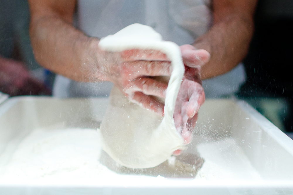 Massaging the dough