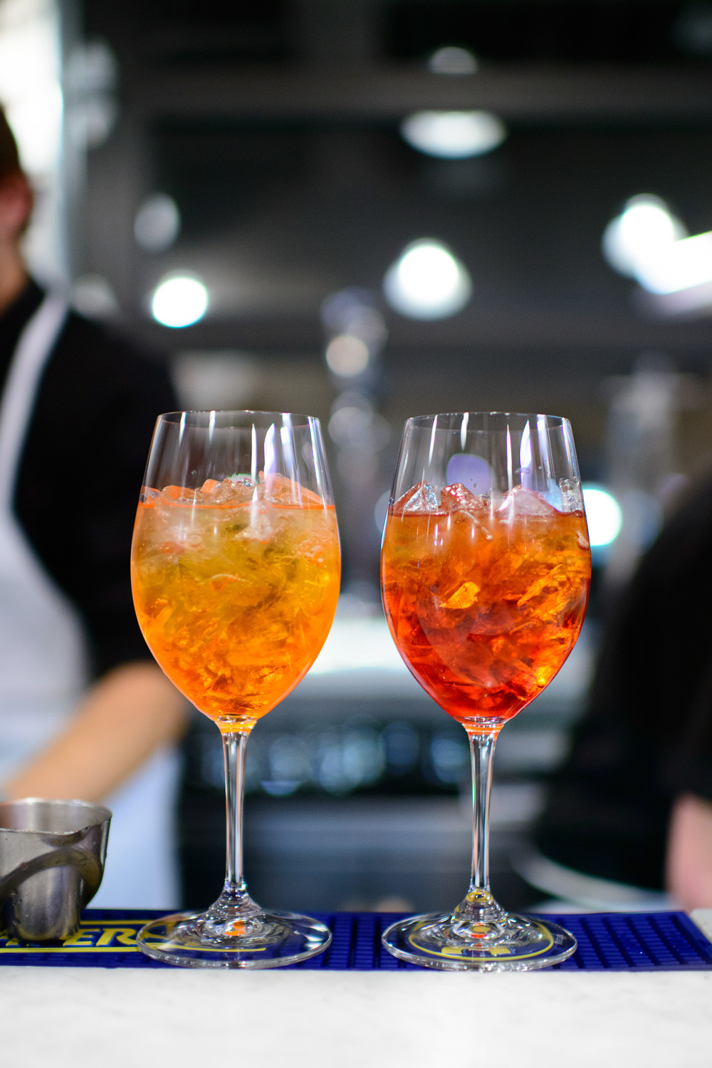 Aperol and India Pale Americano spritz
