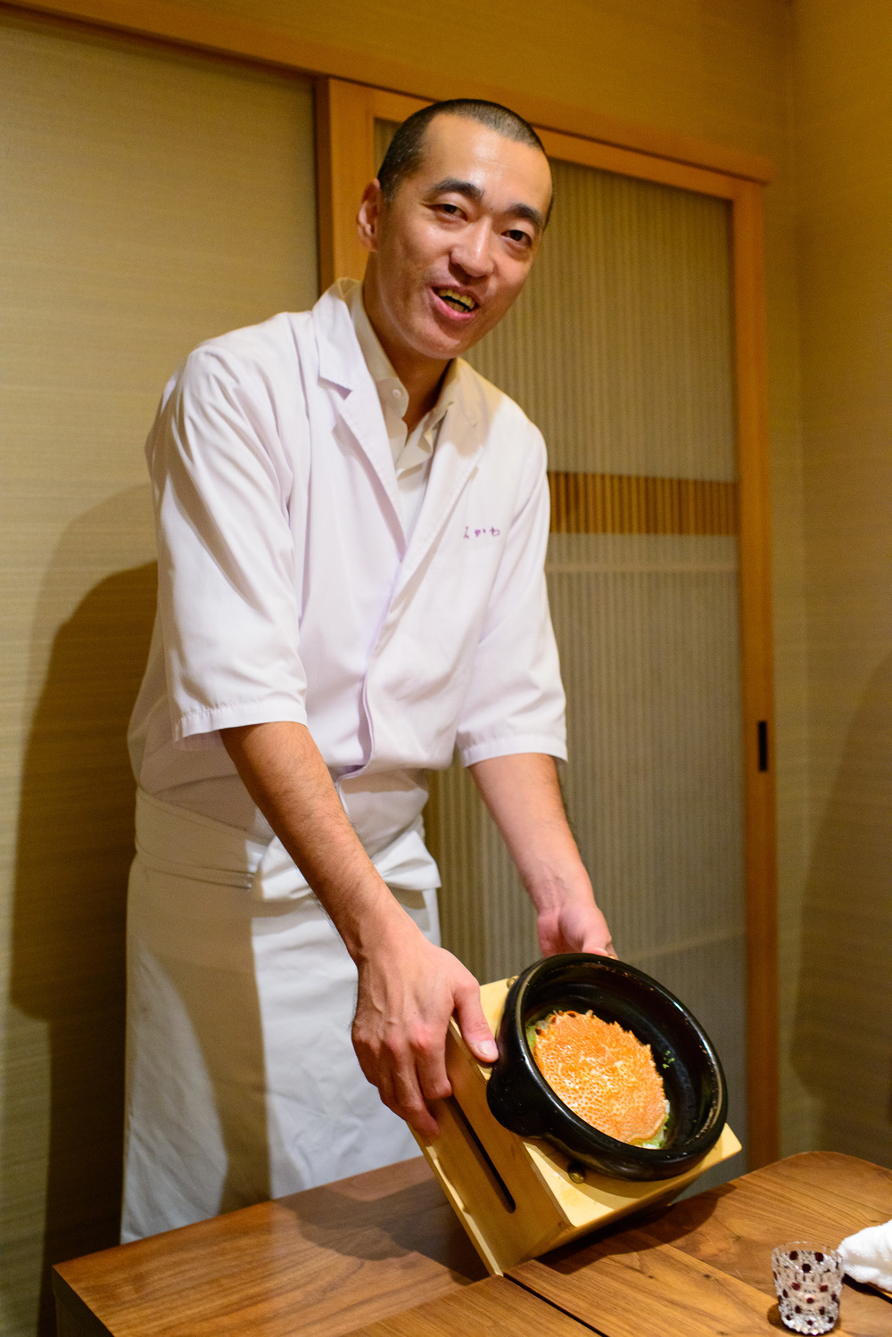 Chef Hideki Ishikawa
