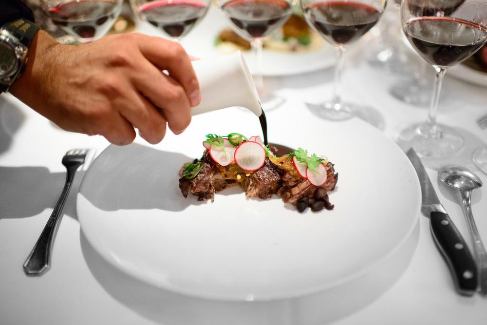 Frijol con Puerco de Lujo: Gunthorp heritage pork suckling pig s