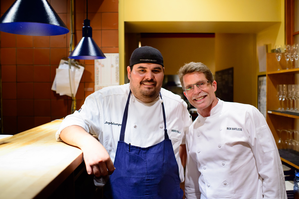Andrés Padilla and Rick Bayless