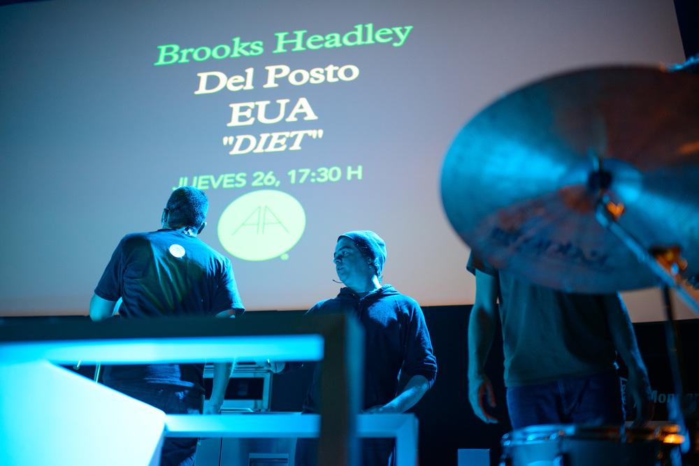Brooks Headley, Del Posto, New York