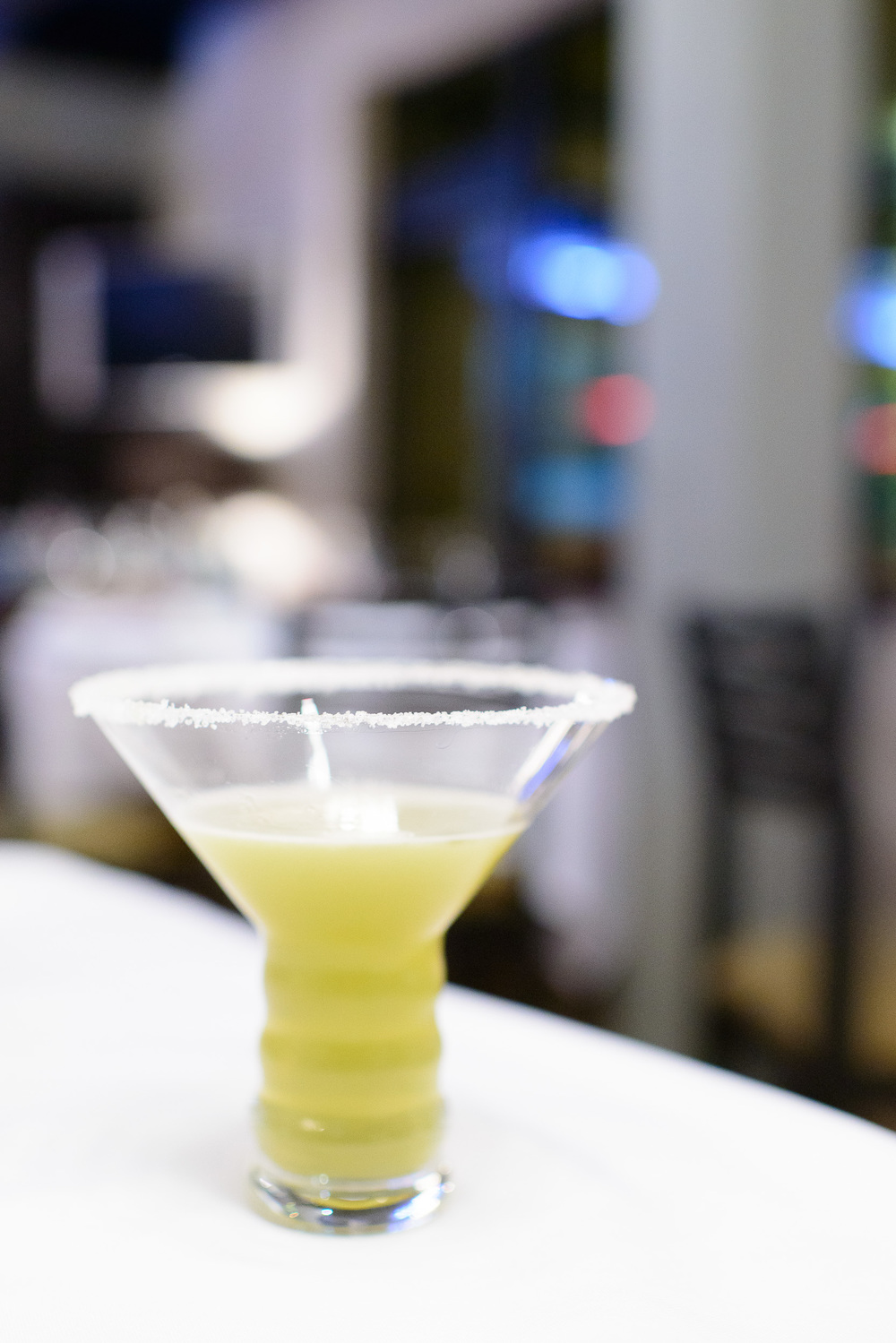 1st Course: Martini de garañona - licor típico de Metepec de m