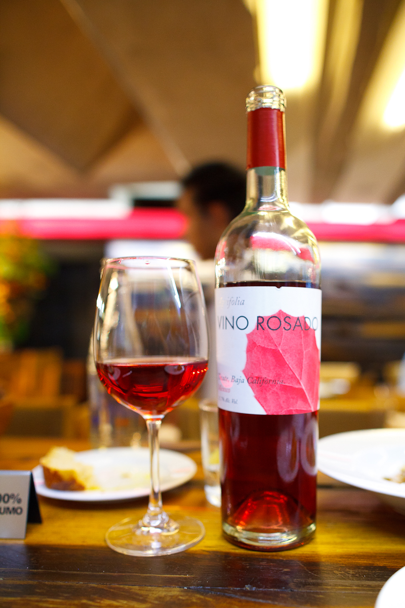 Baja California Vino Rosado