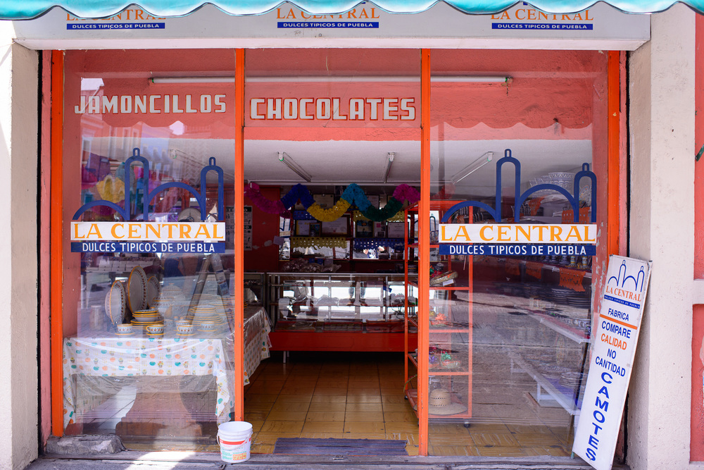 La Central, Dulces Tipicos de Puebla