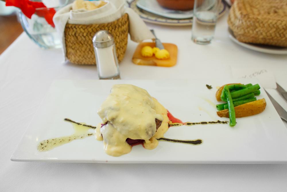 Filete barroco - Exquisito corazón de filete bañado en salsa d