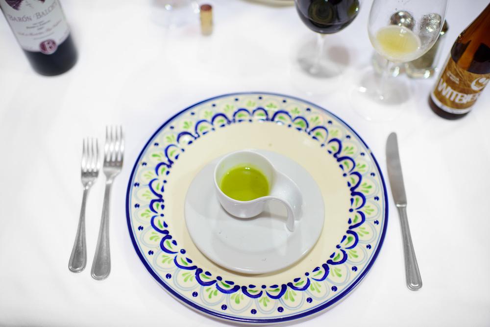 Gazpacho con rajas