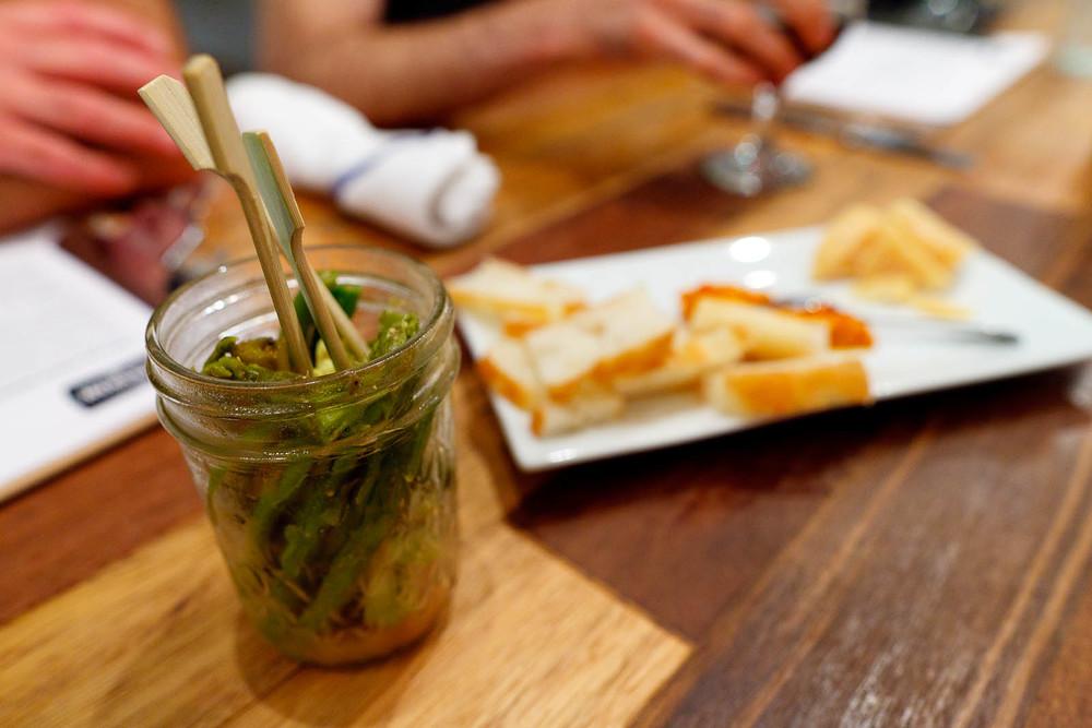 Miso-Mustard Pickles ($5)