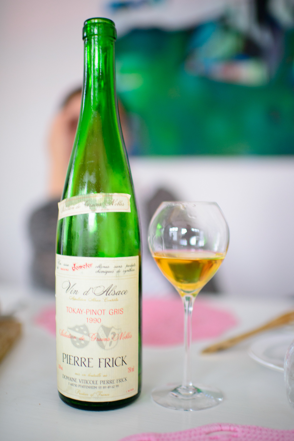 Pierre Frick Tokay Pinot Gris 1990