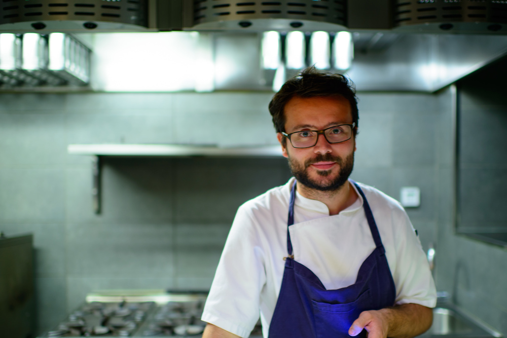 Portrait of Chef Christian Puglisi