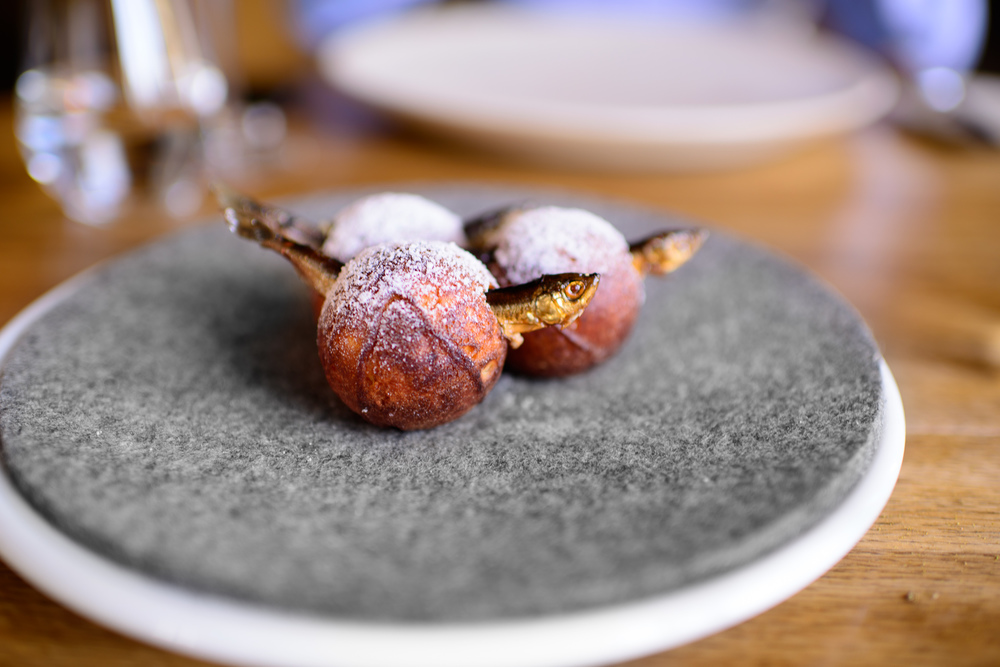 13th Course: Æbleskiver and muikku