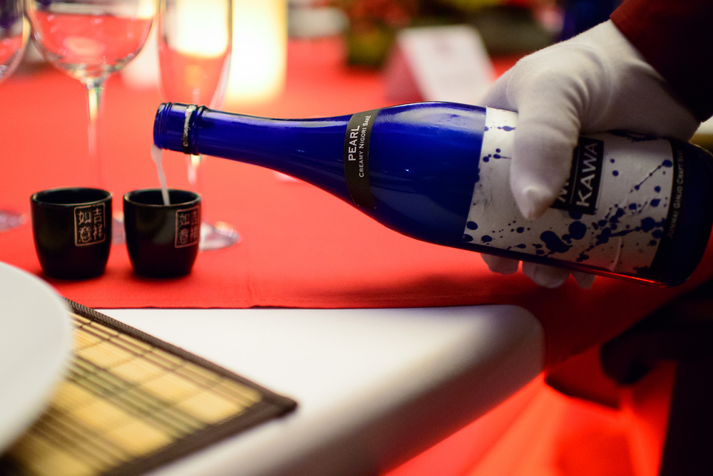 Pearl Nigori Sake