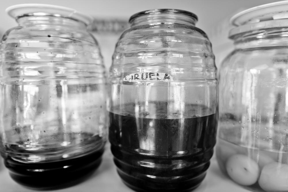 Ciruela (plum) syrup