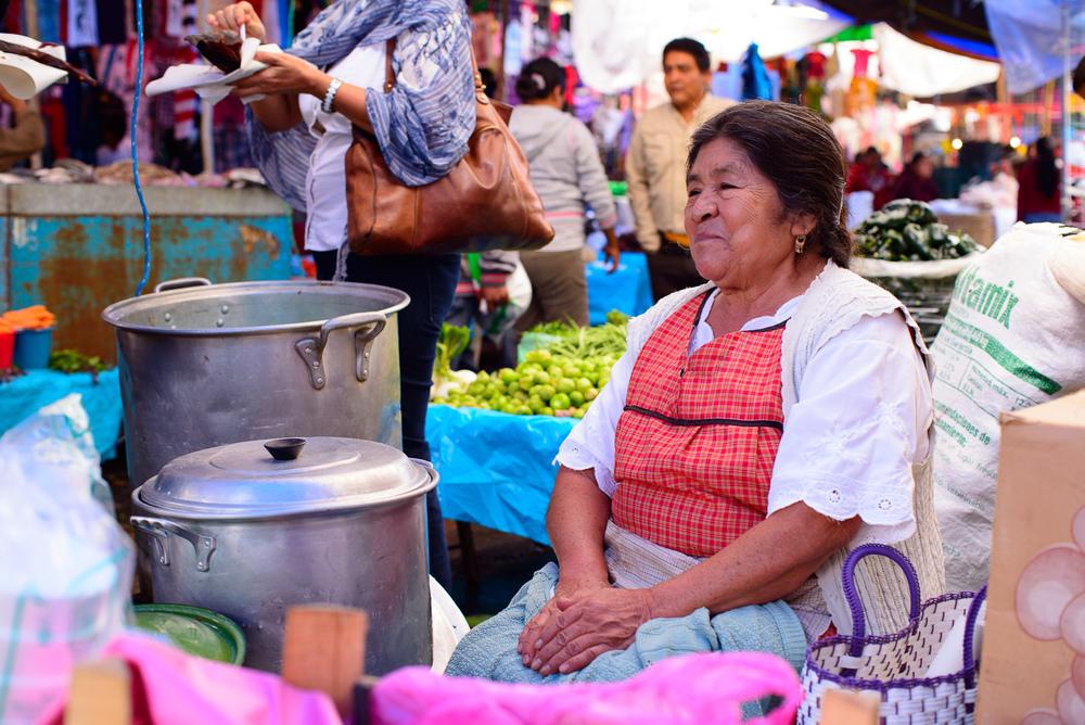Tamal vendor