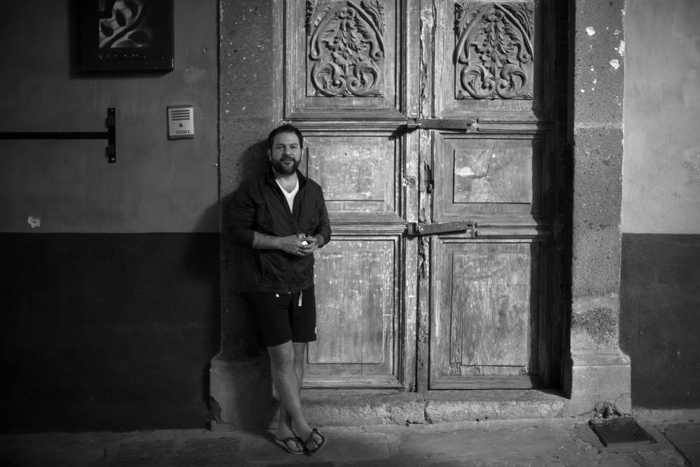 Chef Enrique Olvera, San Miguel de Allende, 2012