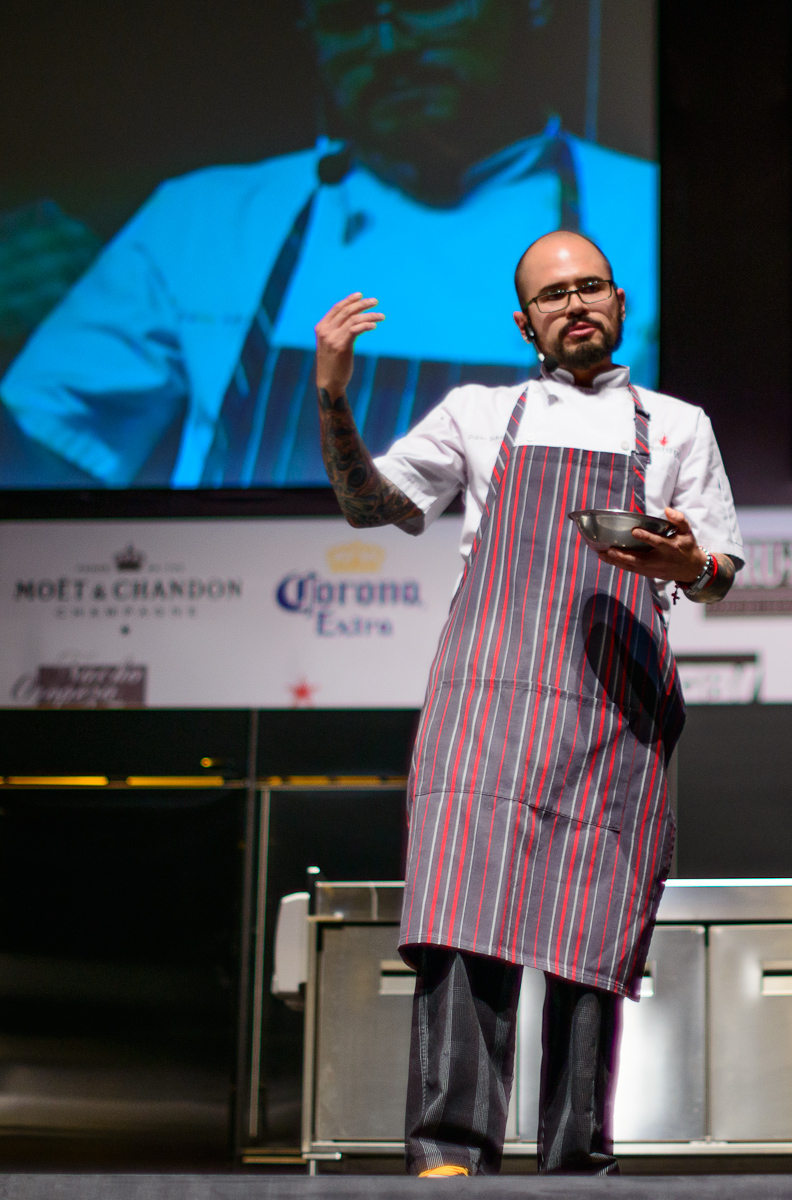 Chef Pablo Salas of Amaranto, Toluca