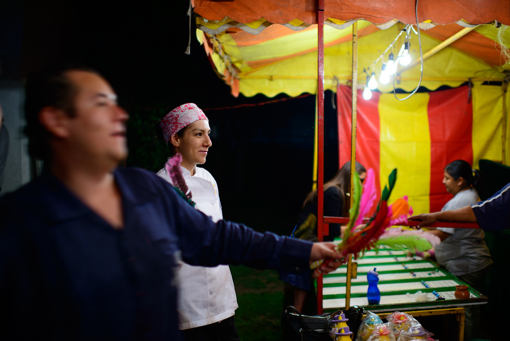 Chefs Lalo Plascensia and Liz Galicia