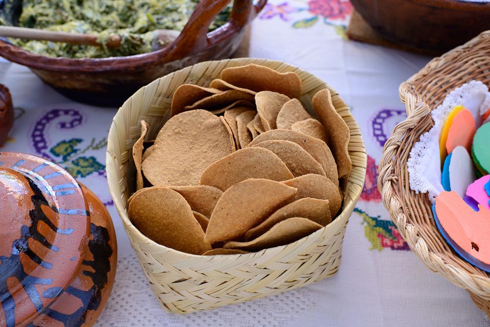 Tortillas fritas de San Martín Texmelucan, Puebla