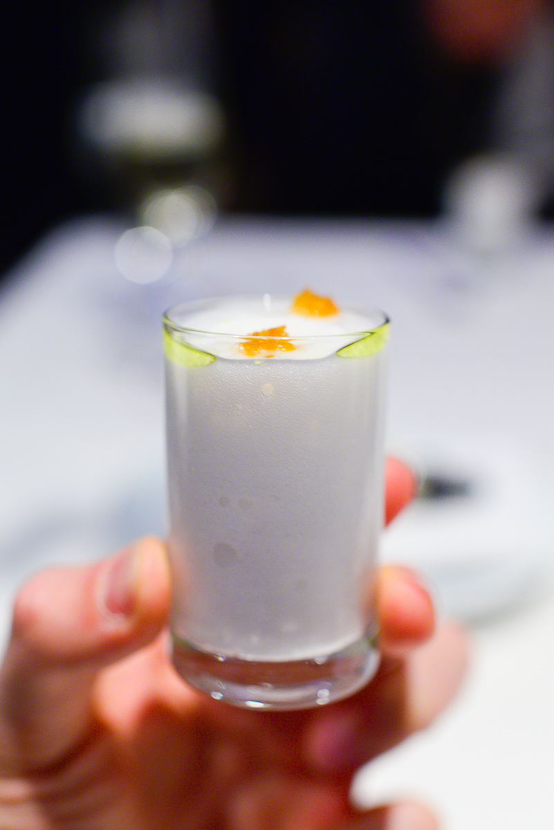 9th Course: 1997 Espuma de humo (Smoke foam)