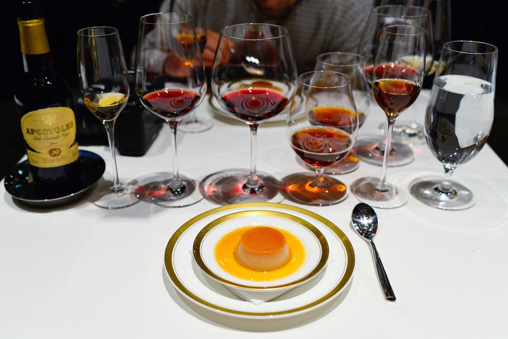 22nd Course: 1999 Foie gras caramel custard (Flan de foie-gras d