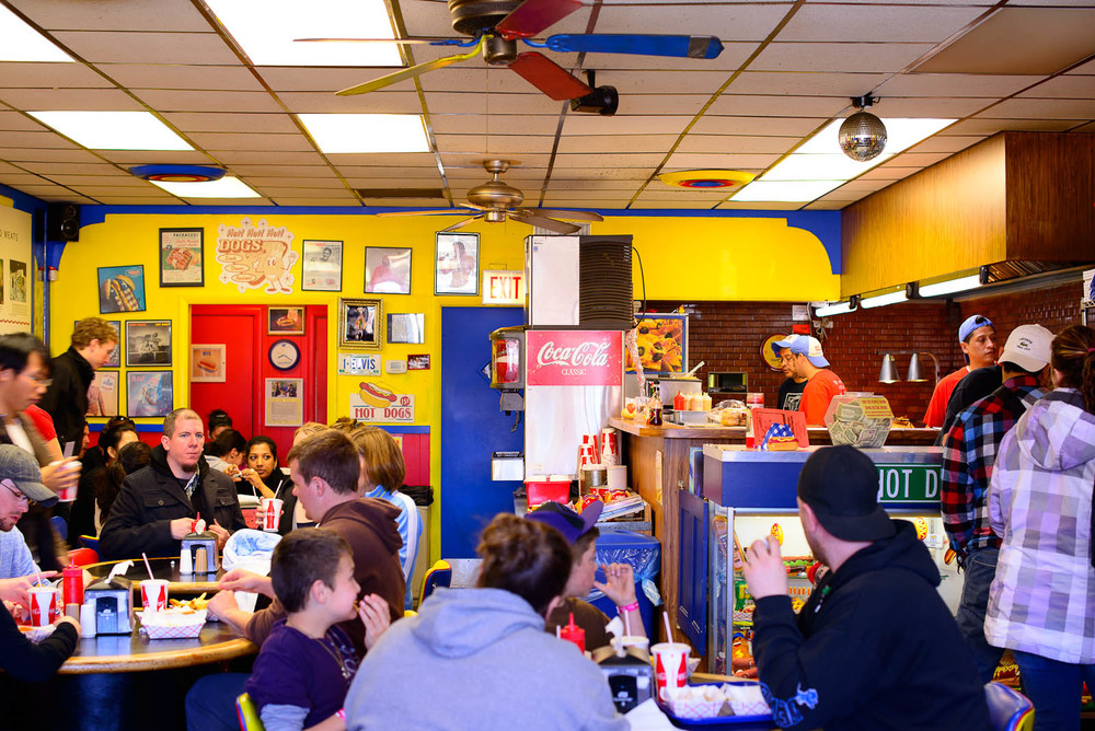 Inside Hot Doug's