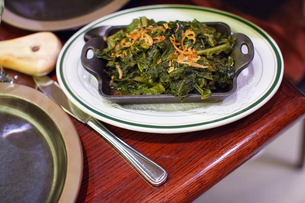 Collard greens - mustard, kale ($7)