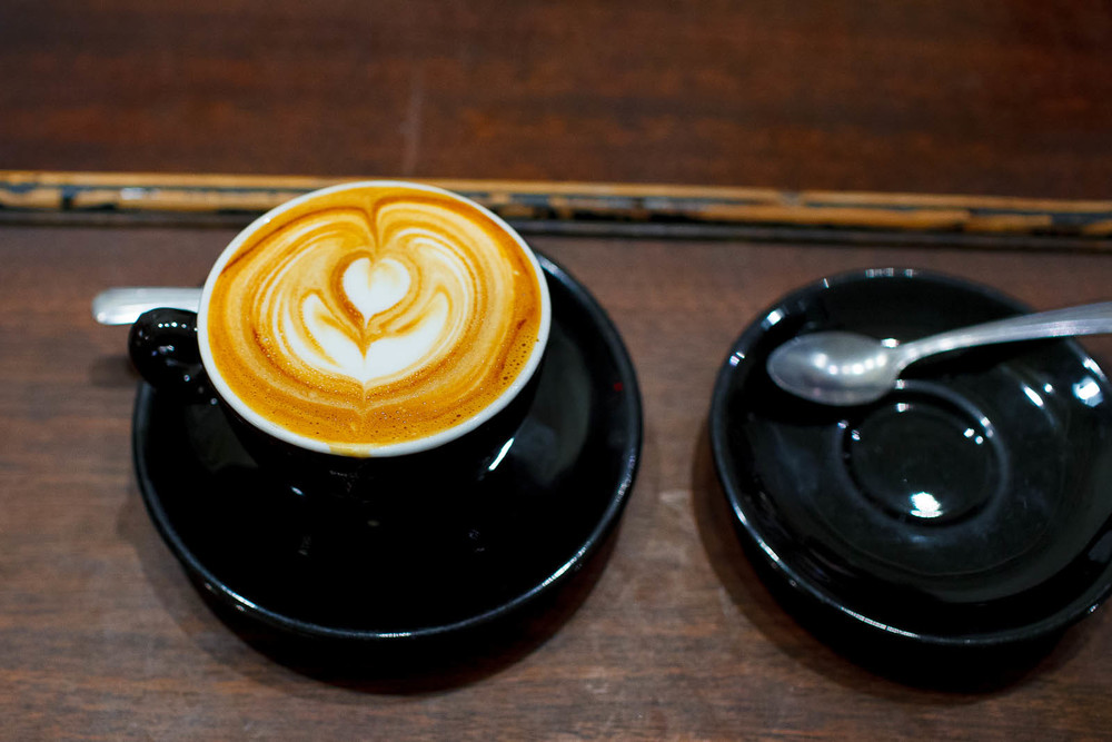 Cappuccino from Stumptown's Ethiopian Mordecofe