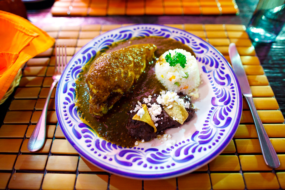 Mole sacristía (Chicken breast in house mole).jpg