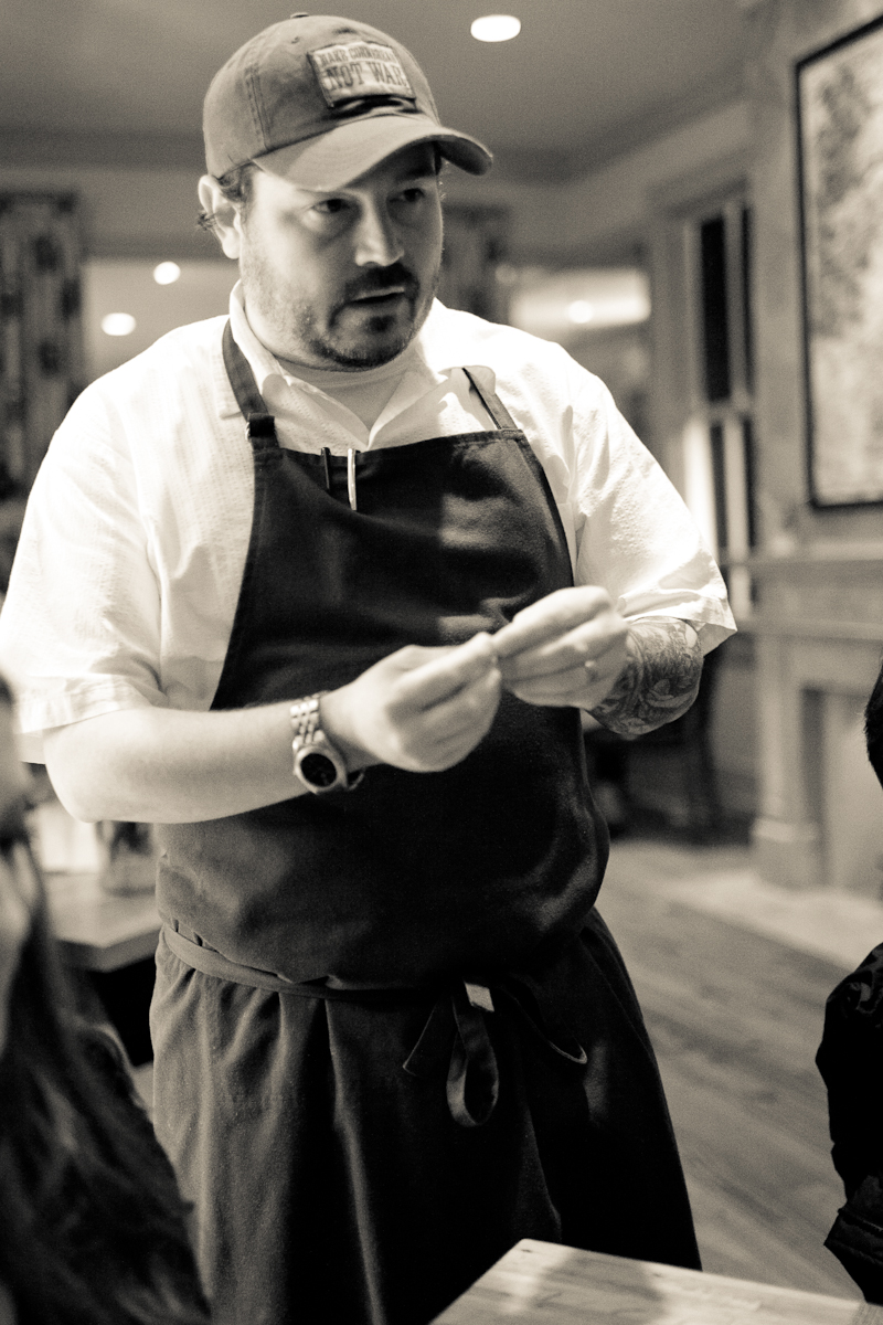 Portrait of Chef Brock
