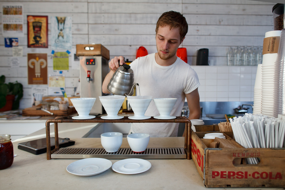 Pour over Intelligentsia coffee ($3.55)