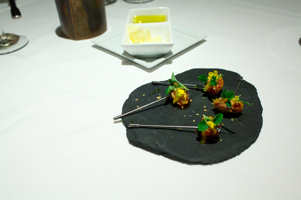 Amuse Bouche 1: General Tsao's Brussels Sprouts