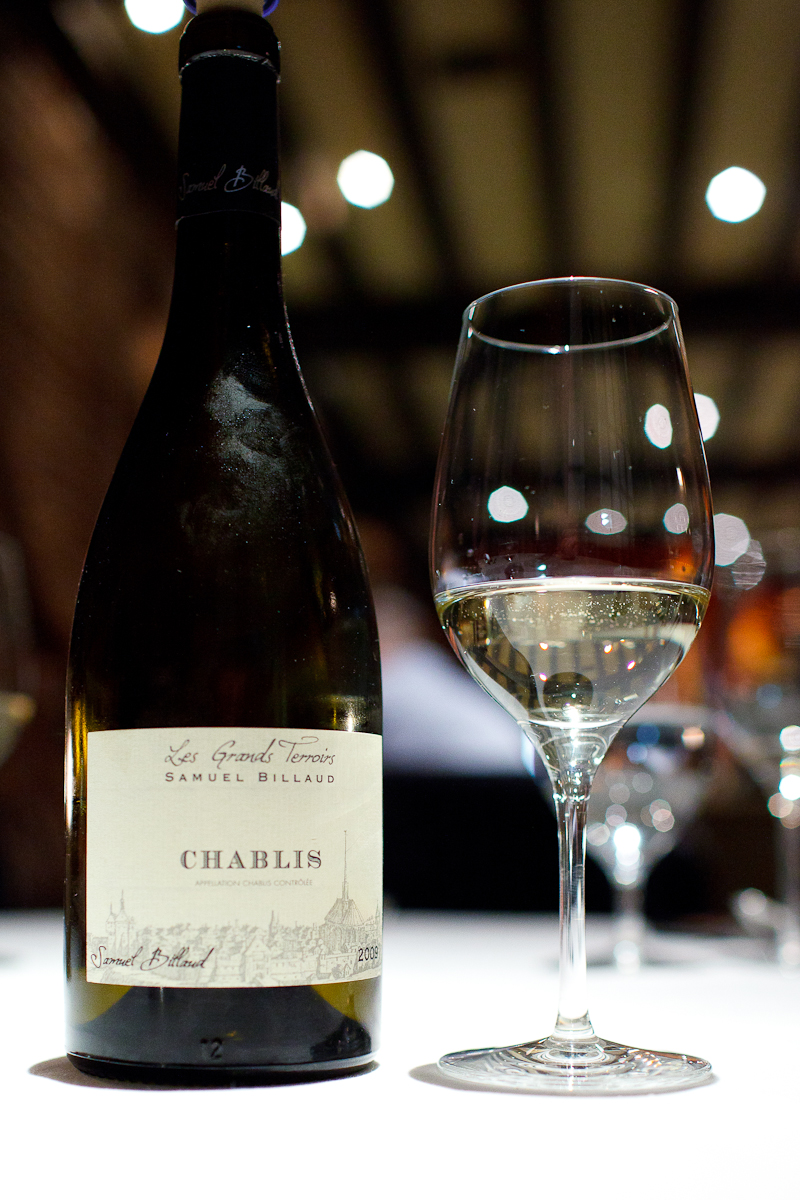 Les Grands Terroirs, Samuel Billaud, Chablis 2009