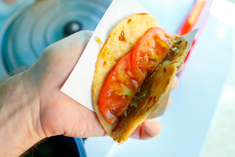 """Tacos de aserrín de cazón (Shark """"sawdust"""" tacos)"""