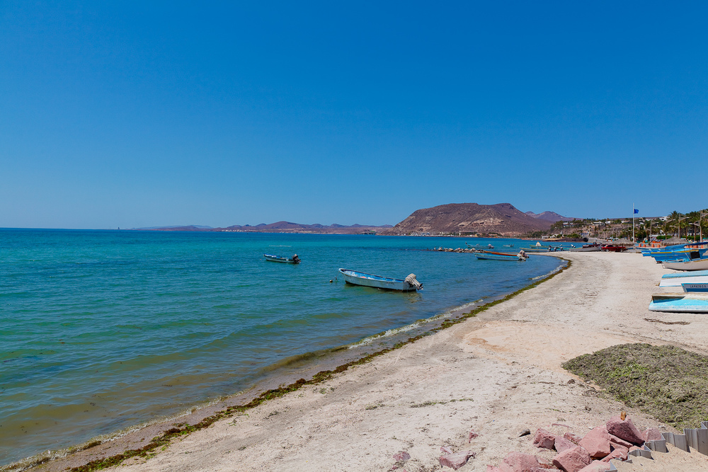 Seaside in La Paz
