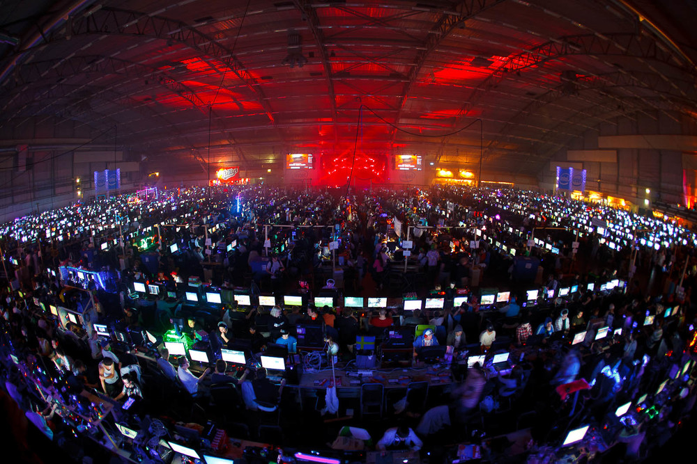 Welcome introduction to DreamHack Winter 2011