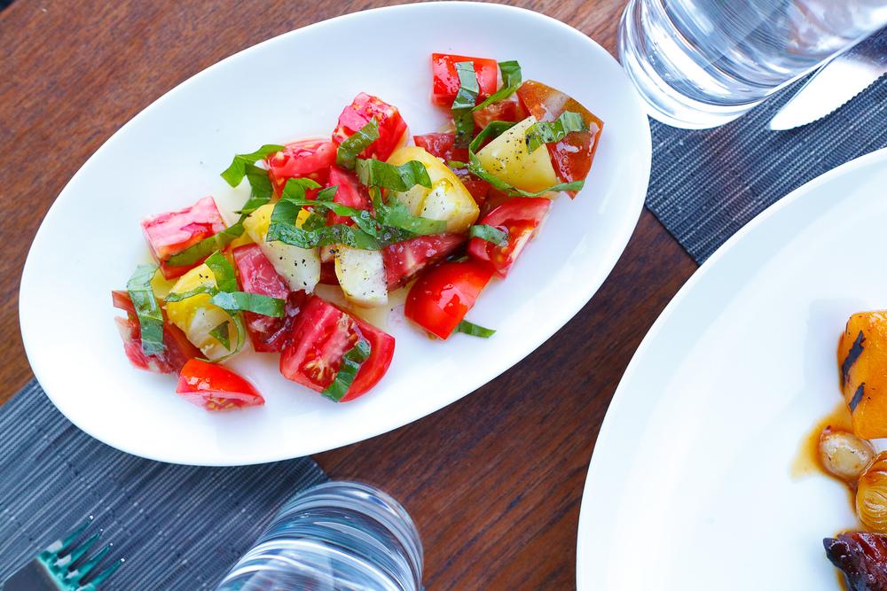 Tomato and basil ($8)