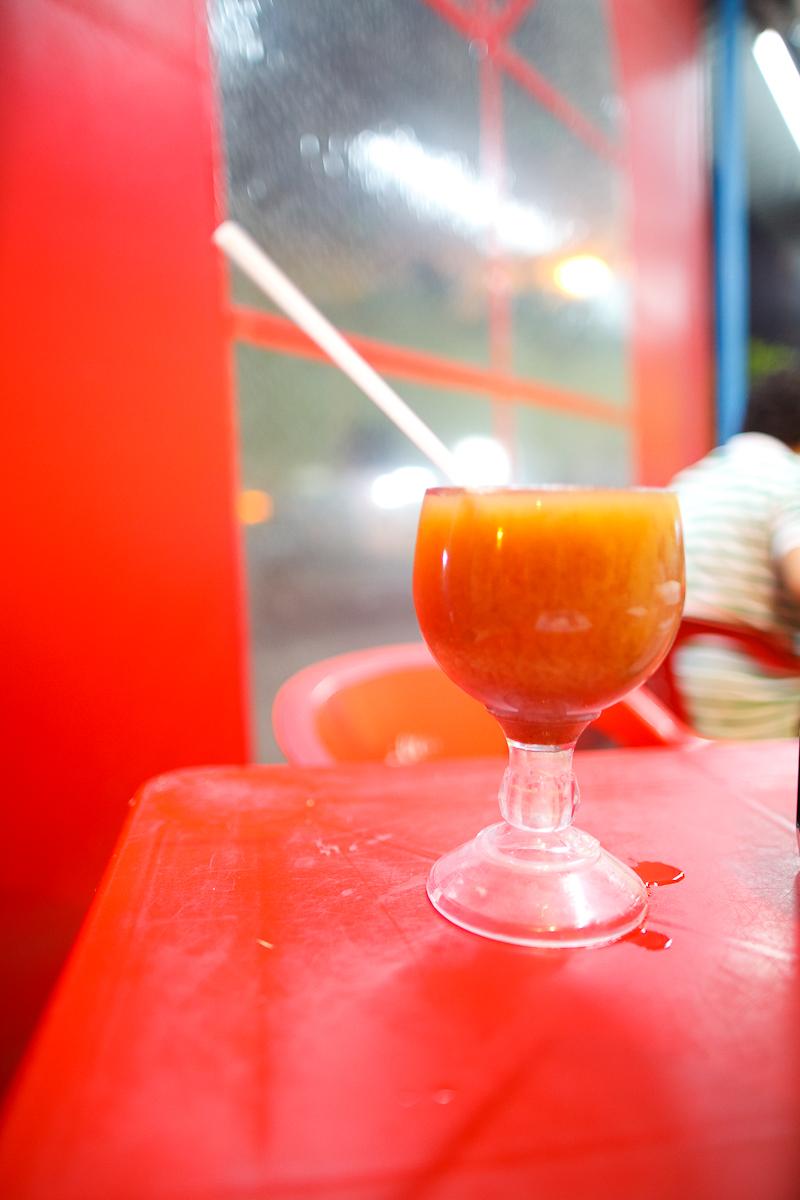 Agua de tamarindo (tamarind water)