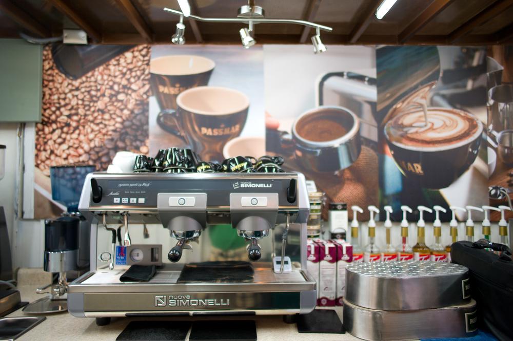 Simonelli experimental espresso machine