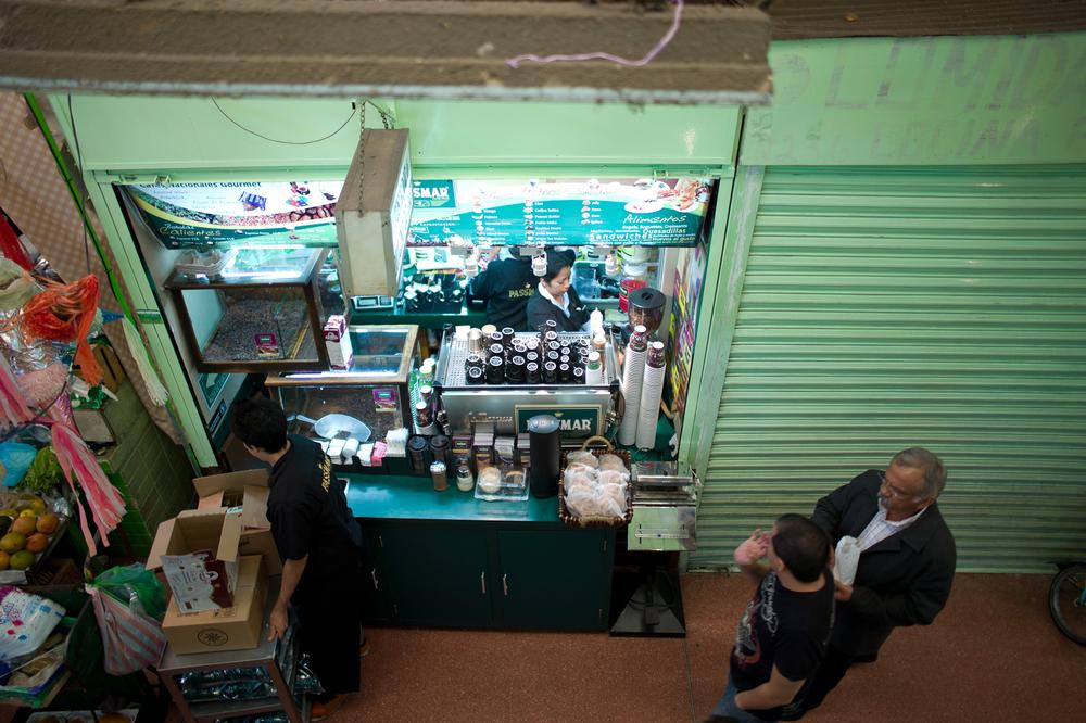 The Café Passmar storefront