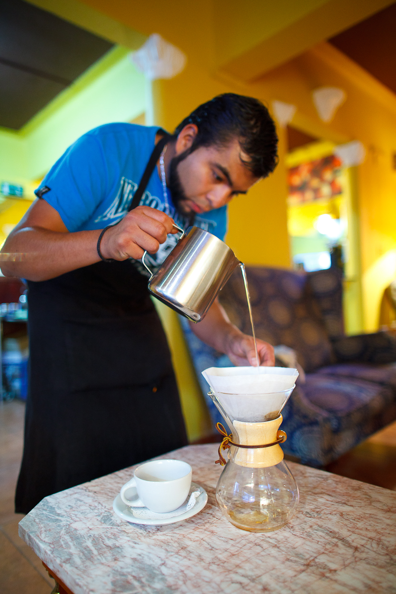 Pour over chemex (50 MXP)