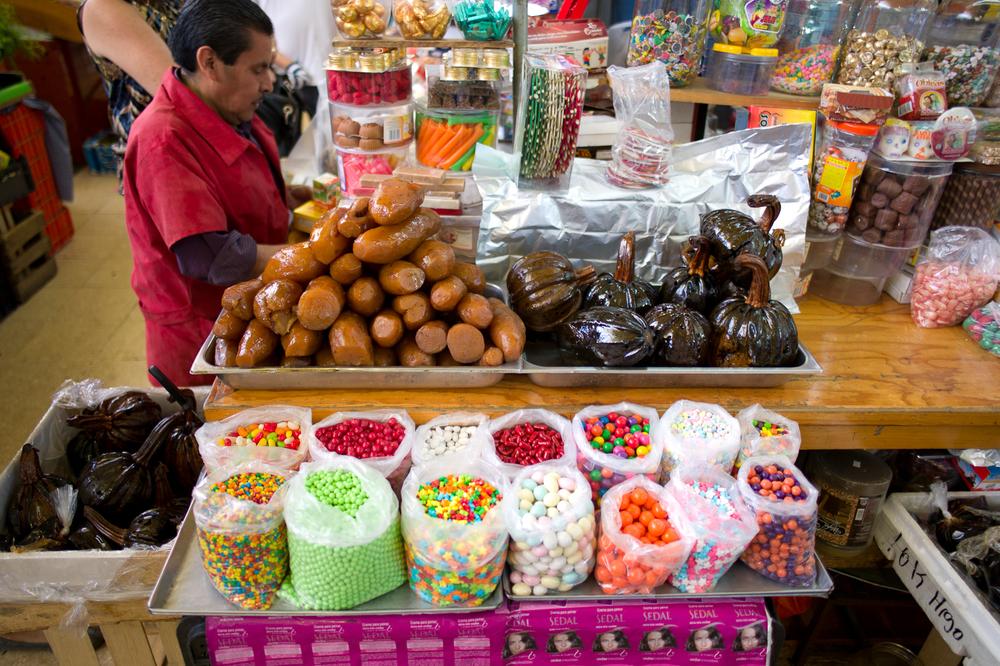 Vendidor de delicias Mexicanas