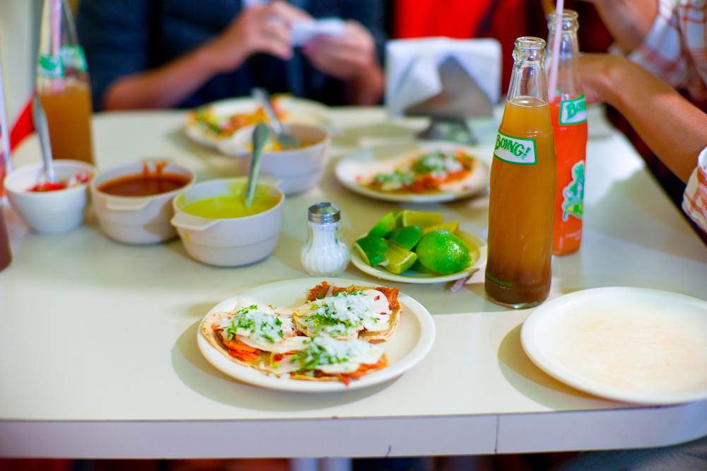 Tacos al Pastor con Piña extra